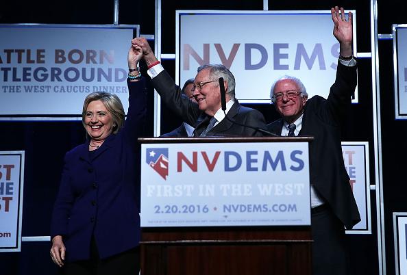 ネバダ州「Democratic Presidential Candidates Attend First In The West Caucus Dinner」:写真・画像(14)[壁紙.com]