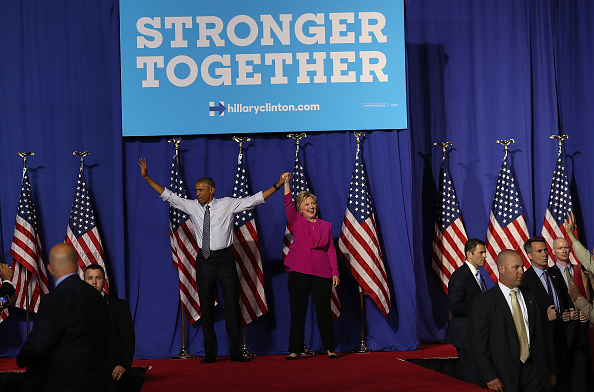North Carolina - US State「President Obama Campaigns With Hillary Clinton In Charlotte」:写真・画像(5)[壁紙.com]