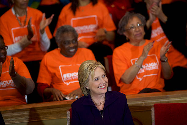 Hillary Clinton Holds Campaign Event With Cory Booker In South Carolina:ニュース(壁紙.com)