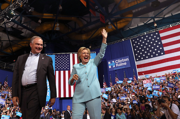 Florida - US State「Democratic Presidential Candidate Hillary Clinton Appears With Vice Presidential Pick Sen. Tim Kaine」:写真・画像(10)[壁紙.com]