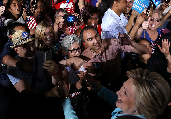 Florida - US State「Democratic Presidential Candidate Hillary Clinton Appears With Vice Presidential Pick Sen. Tim Kaine」:写真・画像(18)[壁紙.com]