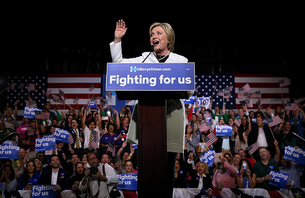 Super Tuesday「Hillary Clinton Holds Super Tuesday Night Event In Miami」:写真・画像(10)[壁紙.com]