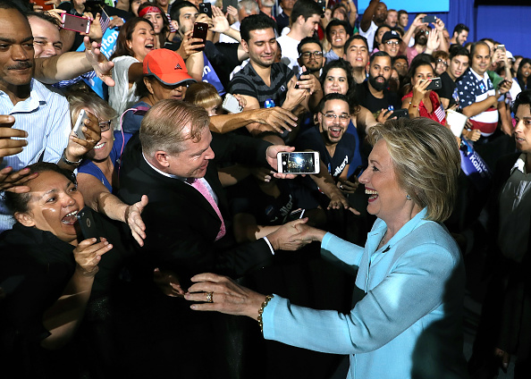 Florida - US State「Democratic Presidential Candidate Hillary Clinton Appears With Vice Presidential Pick Sen. Tim Kaine」:写真・画像(15)[壁紙.com]