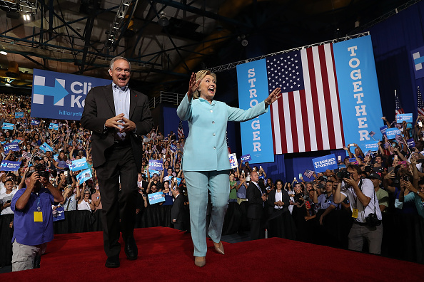 Florida - US State「Democratic Presidential Candidate Hillary Clinton Appears With Vice Presidential Pick Sen. Tim Kaine」:写真・画像(11)[壁紙.com]