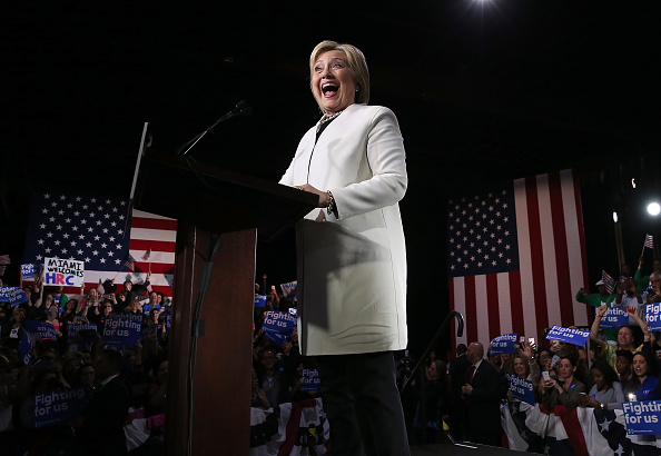 Super Tuesday「Hillary Clinton Holds Super Tuesday Night Event In Miami」:写真・画像(11)[壁紙.com]
