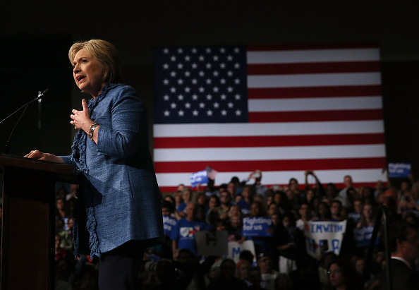 Florida - US State「Democratic Presidential Candidate Hillary Clinton Holds Primary Night Event In Florida」:写真・画像(3)[壁紙.com]