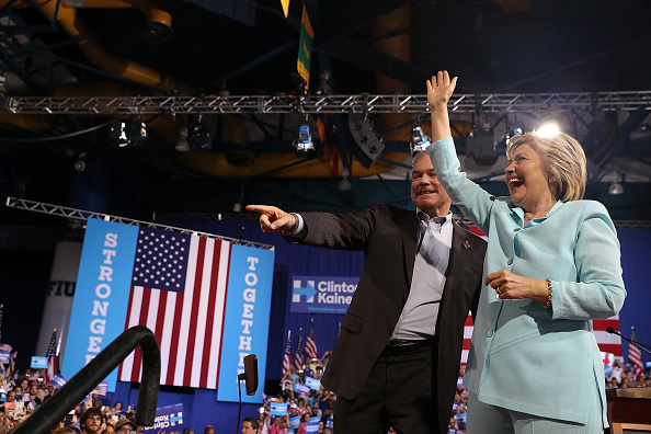 Florida - US State「Democratic Presidential Candidate Hillary Clinton Appears With Vice Presidential Pick Sen. Tim Kaine」:写真・画像(19)[壁紙.com]