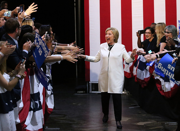 Super Tuesday「Hillary Clinton Holds Super Tuesday Night Event In Miami」:写真・画像(8)[壁紙.com]