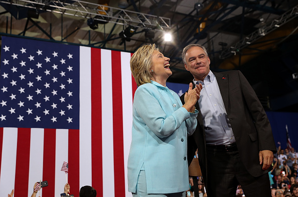 Florida - US State「Democratic Presidential Candidate Hillary Clinton Appears With Vice Presidential Pick Sen. Tim Kaine」:写真・画像(1)[壁紙.com]