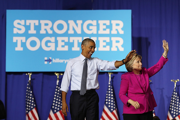 North Carolina - US State「President Obama Campaigns With Hillary Clinton In Charlotte」:写真・画像(3)[壁紙.com]