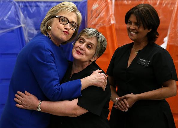 ネバダ州「Hillary Clinton Holds A Get Out The Caucus Event In Las Vegas」:写真・画像(16)[壁紙.com]