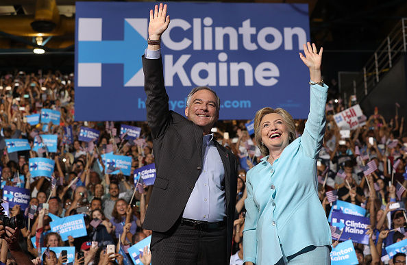 Florida - US State「Democratic Presidential Candidate Hillary Clinton Appears With Vice Presidential Pick Sen. Tim Kaine」:写真・画像(3)[壁紙.com]