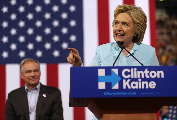 Florida - US State「Democratic Presidential Candidate Hillary Clinton Appears With Vice Presidential Pick Sen. Tim Kaine」:写真・画像(6)[壁紙.com]