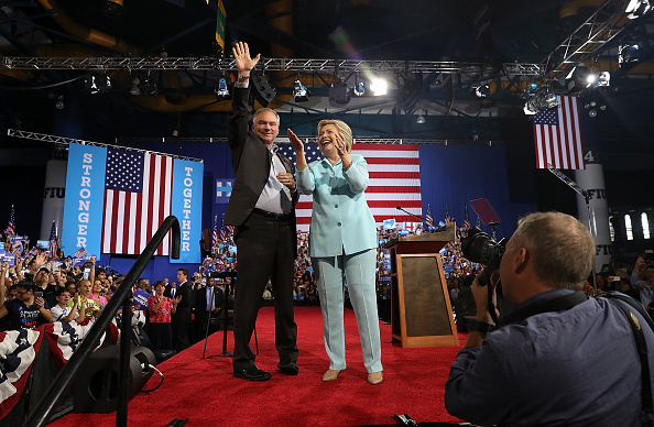 Florida - US State「Democratic Presidential Candidate Hillary Clinton Appears With Vice Presidential Pick Sen. Tim Kaine」:写真・画像(2)[壁紙.com]