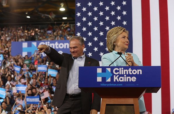 Florida - US State「Democratic Presidential Candidate Hillary Clinton Appears With Vice Presidential Pick Sen. Tim Kaine」:写真・画像(14)[壁紙.com]
