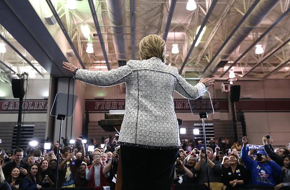 Justin Sullivan「Hillary Clinton Hosts Primary Night Event In Columbia, South Carolina」:写真・画像(11)[壁紙.com]
