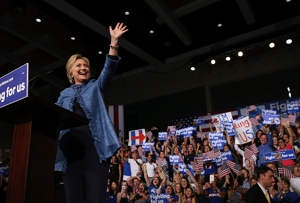 Florida - US State「Democratic Presidential Candidate Hillary Clinton Holds Primary Night Event In Florida」:写真・画像(14)[壁紙.com]