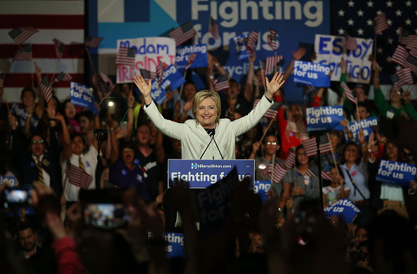 Super Tuesday「Hillary Clinton Holds Super Tuesday Night Event In Miami」:写真・画像(6)[壁紙.com]