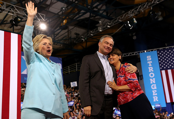 Florida - US State「Democratic Presidential Candidate Hillary Clinton Appears With Vice Presidential Pick Sen. Tim Kaine」:写真・画像(17)[壁紙.com]