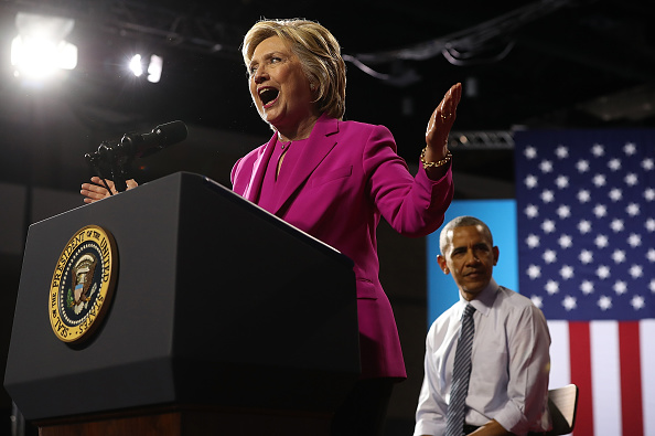 North Carolina - US State「President Obama Campaigns With Hillary Clinton In Charlotte」:写真・画像(15)[壁紙.com]