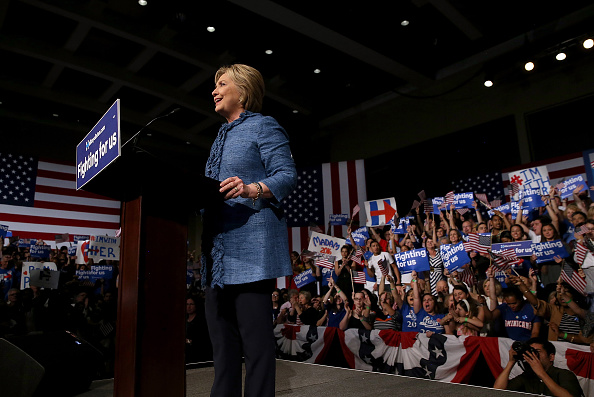 Florida - US State「Democratic Presidential Candidate Hillary Clinton Holds Primary Night Event In Florida」:写真・画像(5)[壁紙.com]