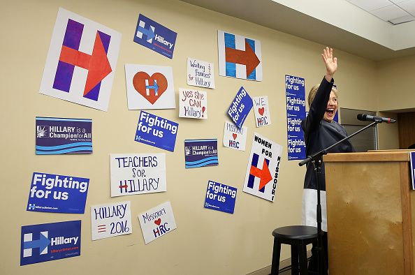 Super Tuesday「Hillary Clinton Campaigns In Midwest Ahead Of Ohio's Primary」:写真・画像(10)[壁紙.com]