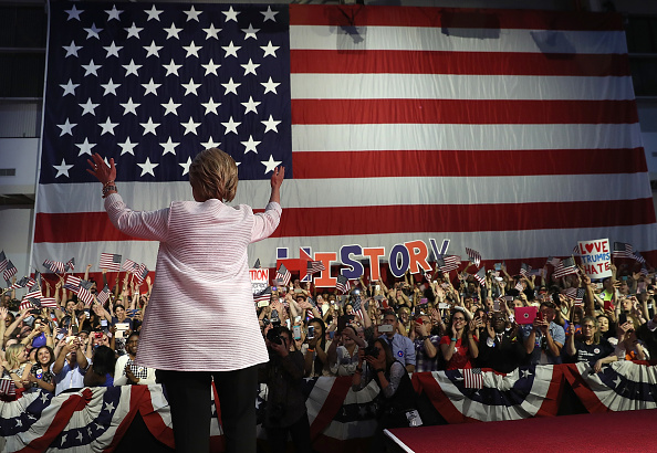 US Democratic Party 2016 Presidential Candidate「Hillary Clinton Holds Primary Night Event In Brooklyn, New York」:写真・画像(5)[壁紙.com]