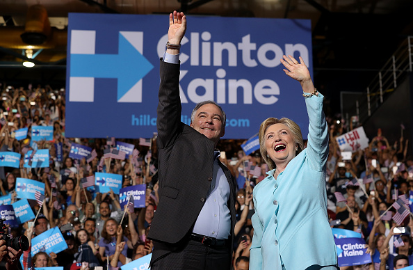 Florida - US State「Democratic Presidential Candidate Hillary Clinton Appears With Vice Presidential Pick Sen. Tim Kaine」:写真・画像(5)[壁紙.com]