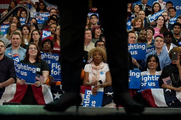US Democratic Party 2016 Presidential Candidate「Democratic Presidential Hillary Clinton Campaigns In Pittsburgh」:写真・画像(1)[壁紙.com]
