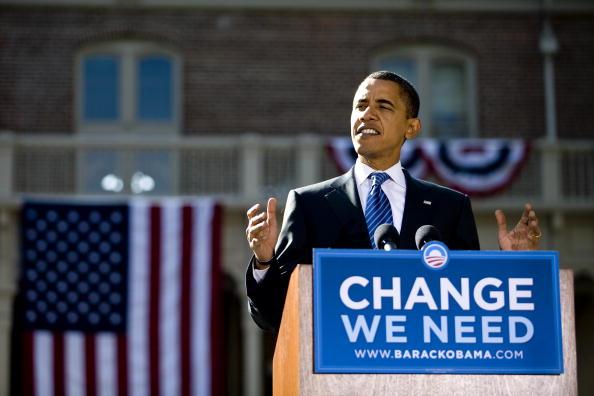 Corporate Business「Barack Obama Campaigns In Reno」:写真・画像(1)[壁紙.com]