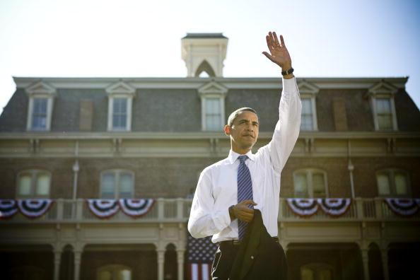 Corporate Business「Barack Obama Campaigns In Reno」:写真・画像(3)[壁紙.com]