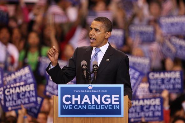 Speech「Obama Holds Final Primary Night Event In St. Paul」:写真・画像(15)[壁紙.com]