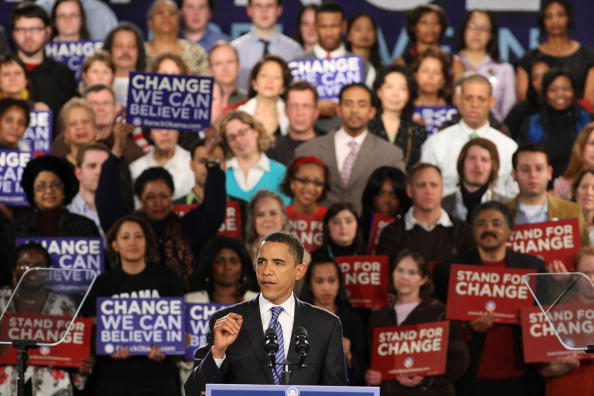 Super Tuesday「Obama Hosts Super Tuesday Night Event In Chicago」:写真・画像(6)[壁紙.com]