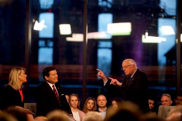 Mark Makela「Sen. Bernie Sanders Participates In A Fox News Town Hall In Pennsylvania」:写真・画像(7)[壁紙.com]