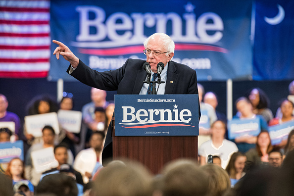 Speech「Bernie Sanders Visits South Carolina For First Time Since Launching Presidential Campaign」:写真・画像(7)[壁紙.com]