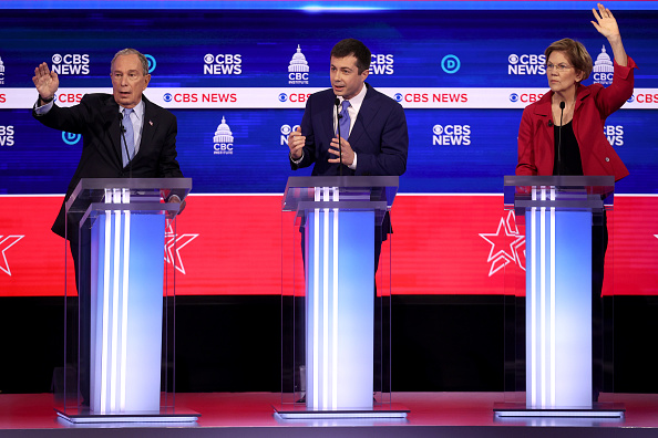 Charleston - South Carolina「Democratic Presidential Candidates Debate In Charleston Ahead Of SC Primary」:写真・画像(9)[壁紙.com]