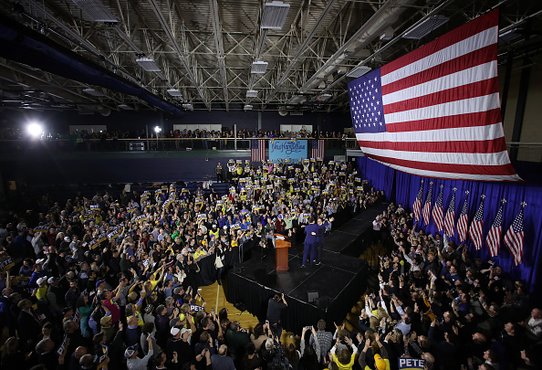Win McNamee「Presidential Candidate Pete Buttigieg Holds Primary Night Event In Nashua, NH」:写真・画像(17)[壁紙.com]