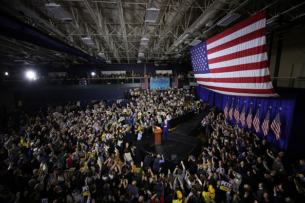 Win McNamee「Presidential Candidate Pete Buttigieg Holds Primary Night Event In Nashua, NH」:写真・画像(18)[壁紙.com]
