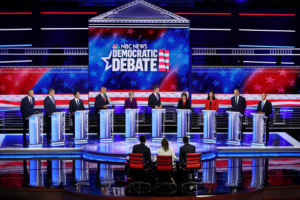 Presidential Candidate「Democratic Presidential Candidates Participate In First Debate Of 2020 Election Over Two Nights」:写真・画像(14)[壁紙.com]