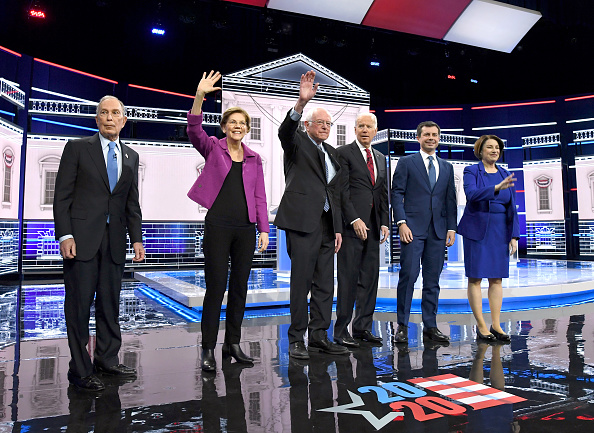 Nevada「Democratic Presidential Candidates Debate In Las Vegas Ahead Of Nevada Caucuses」:写真・画像(10)[壁紙.com]