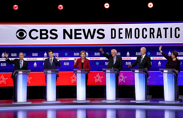 Charleston - South Carolina「Democratic Presidential Candidates Debate In Charleston Ahead Of SC Primary」:写真・画像(5)[壁紙.com]