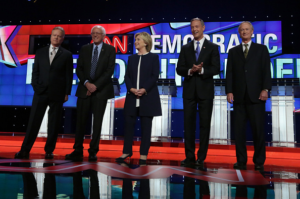 United States Presidential Election「Democratic Presidential Candidates Hold First Debate In Las Vegas」:写真・画像(14)[壁紙.com]
