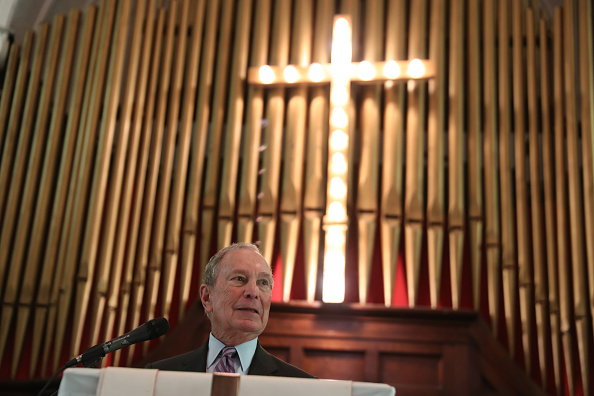 Brown Chapel AME Church - Selma「Democratic Presidential Candidate Mike Bloomberg Campaigns Ahead Of Super Tuesday」:写真・画像(5)[壁紙.com]