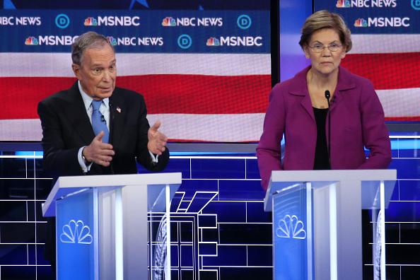 Las Vegas「Democratic Presidential Candidates Debate In Las Vegas Ahead Of Nevada Caucuses」:写真・画像(10)[壁紙.com]