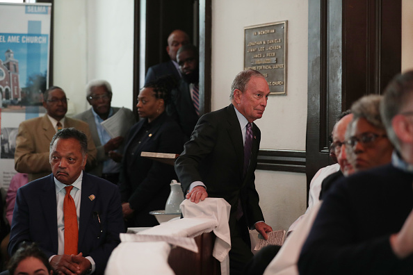 Brown Chapel AME Church - Selma「Democratic Presidential Candidate Mike Bloomberg Campaigns Ahead Of Super Tuesday」:写真・画像(14)[壁紙.com]