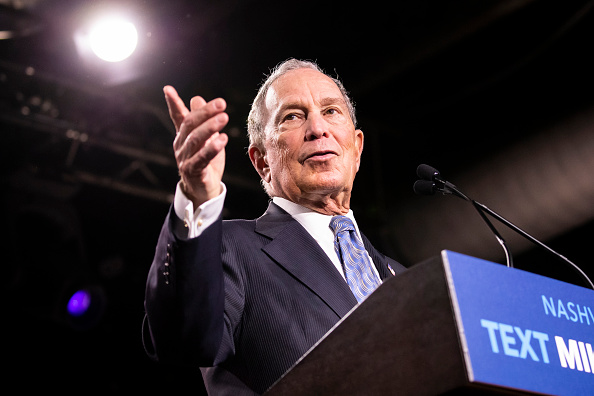 United States Presidential Election「Presidential Candidate Mike Bloomberg Holds Campaign Rally In Nashville」:写真・画像(12)[壁紙.com]