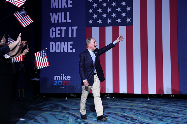 Post - Structure「Presidential Candidate Mike Bloomberg Holds Super Tuesday Event In West Palm Beach, FL」:写真・画像(7)[壁紙.com]