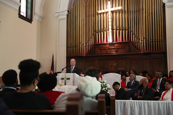 Brown Chapel AME Church - Selma「Democratic Presidential Candidate Mike Bloomberg Campaigns Ahead Of Super Tuesday」:写真・画像(15)[壁紙.com]