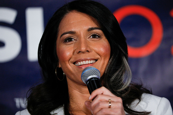 Super Tuesday「Democratic Presidential Candidate Tulsi Gabbard Holds Super Tuesday Primary Night Event In Detroit」:写真・画像(8)[壁紙.com]