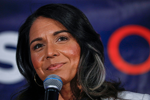 Super Tuesday「Democratic Presidential Candidate Tulsi Gabbard Holds Super Tuesday Primary Night Event In Detroit」:写真・画像(12)[壁紙.com]